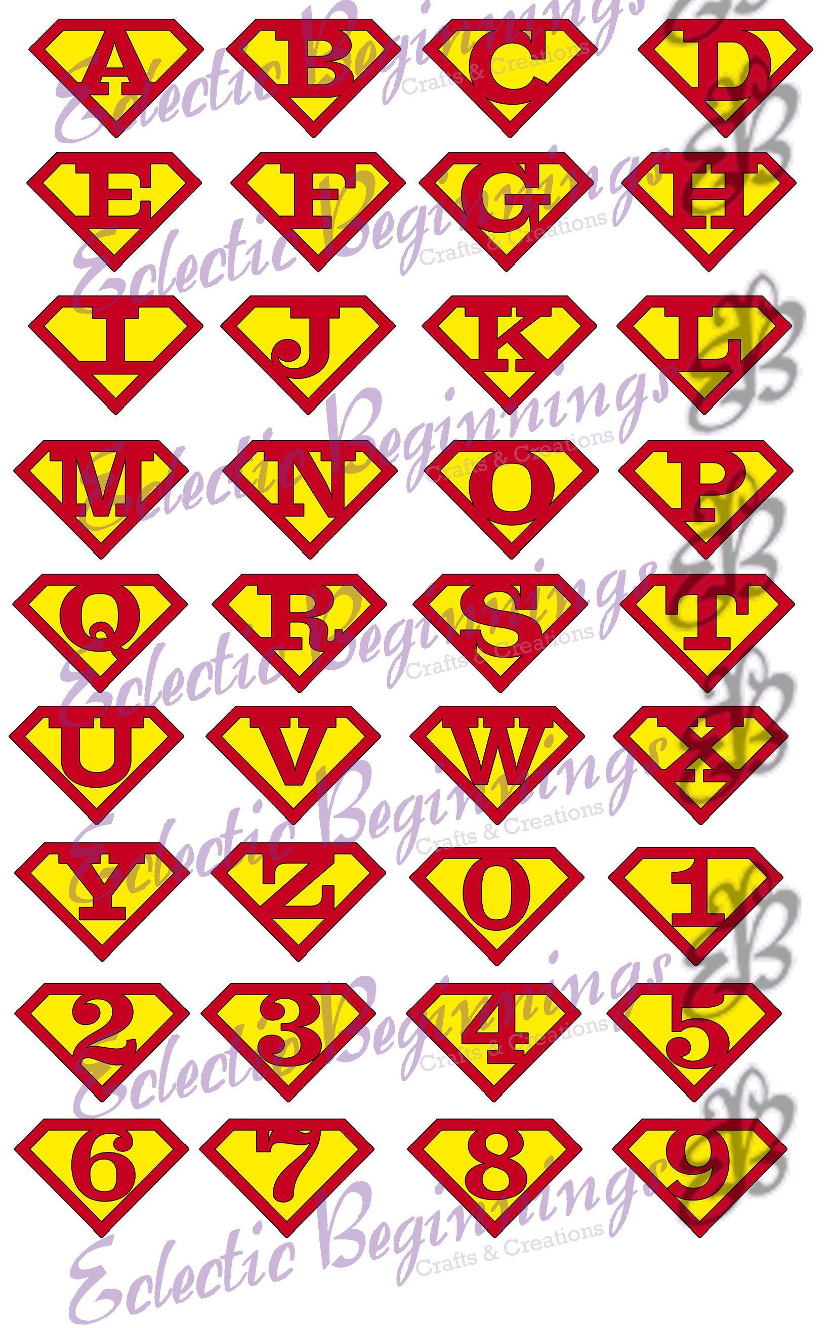 Product Lettering alphabet, Alphabet letter templates