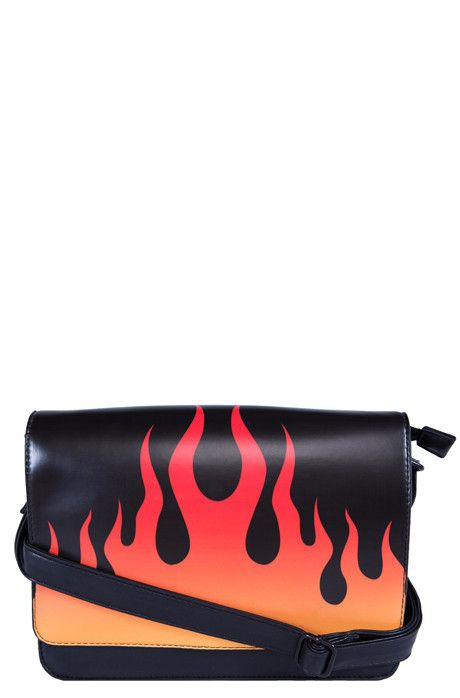 Fire Sign Handbag – Iron Fist International Online Fashion Retailer : Footwear - Apparel - Accessories