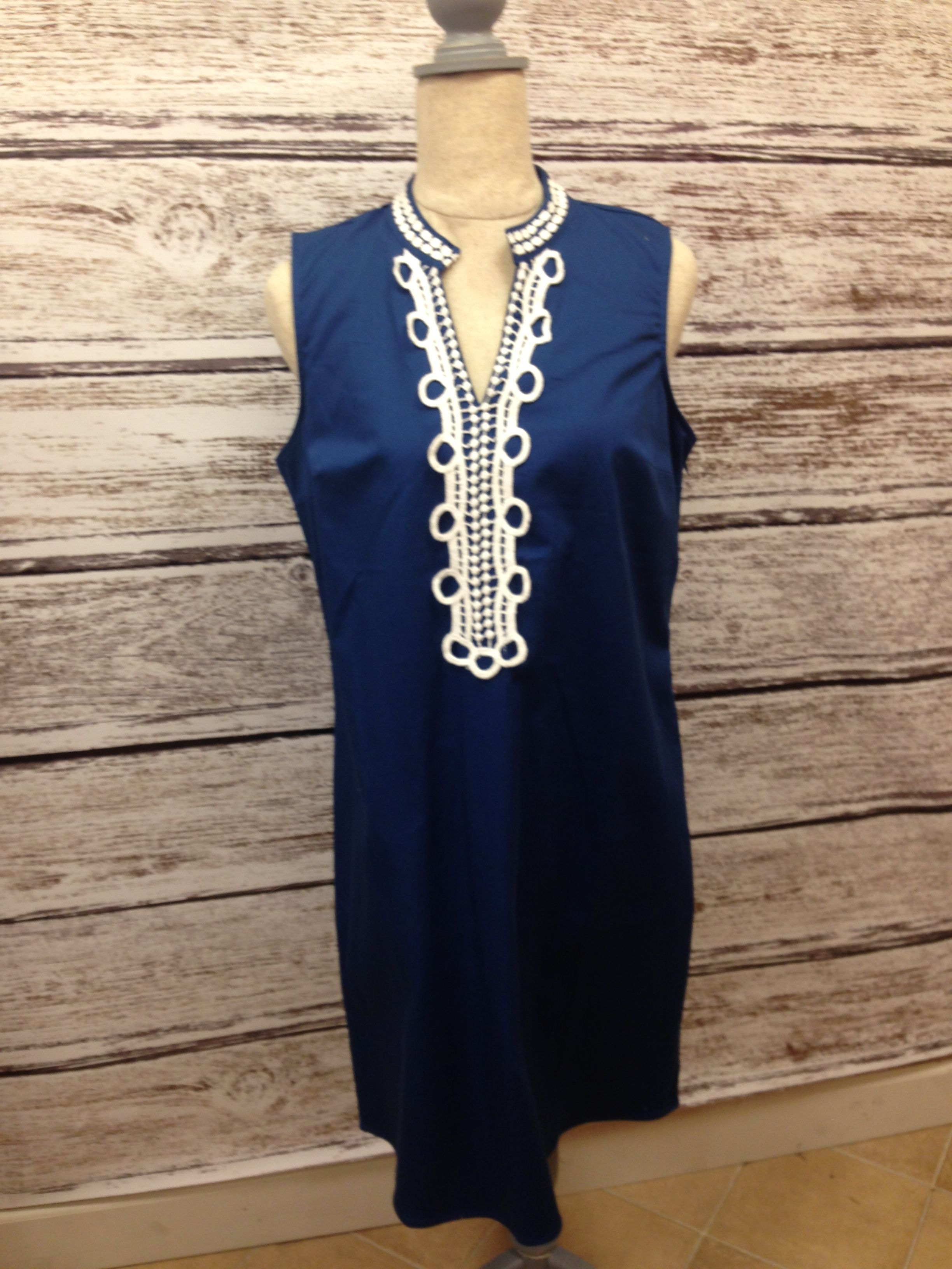 We love this sleeveless dress and it is available at Ace