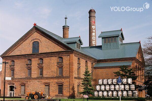 Bảo tàng bia Sapporo tại Hokkaido