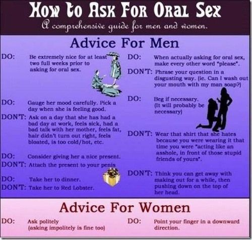Sex advice for women from men