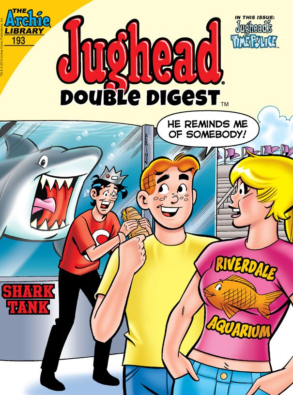 ON SALE TODAY: Jughead Double Digest #193.