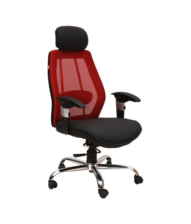 Geeken Revolving Chair Sewing With Storage Astra Office In Red Black Chairs
