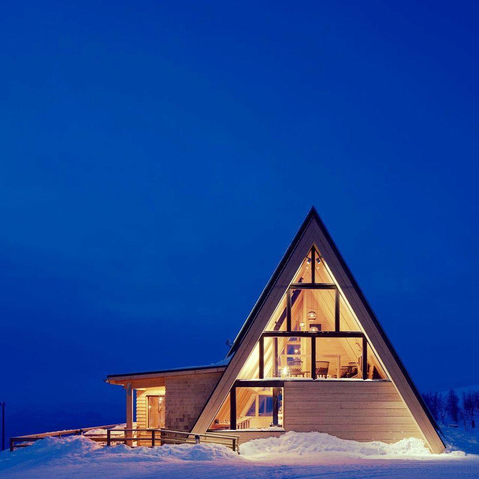 MOUNTAIN RESTAURANT BJ RK in Hemavan by MURMAN ARKITEKTER via archello- architecture, design