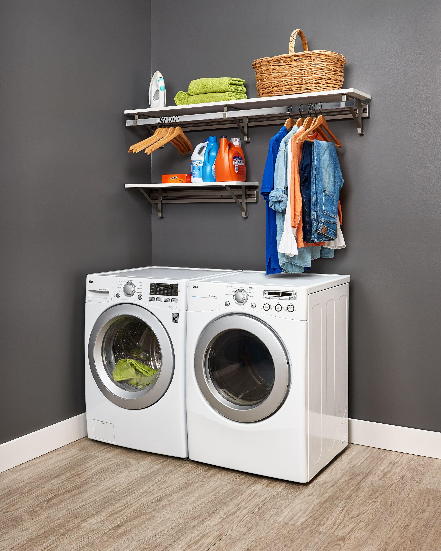 Orginnovations Inc Arrange A Space Heavy Duty Laundry Room Organizer Wayfair In 2020 Laundry Room Storage Laundry Room Organization Small Laundry Room Organization