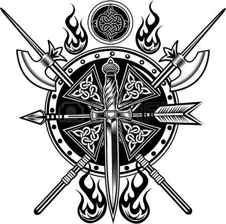 49714074 vikingos 450 447 pinterest escudos vikingos tatuajes y. Black Bedroom Furniture Sets. Home Design Ideas