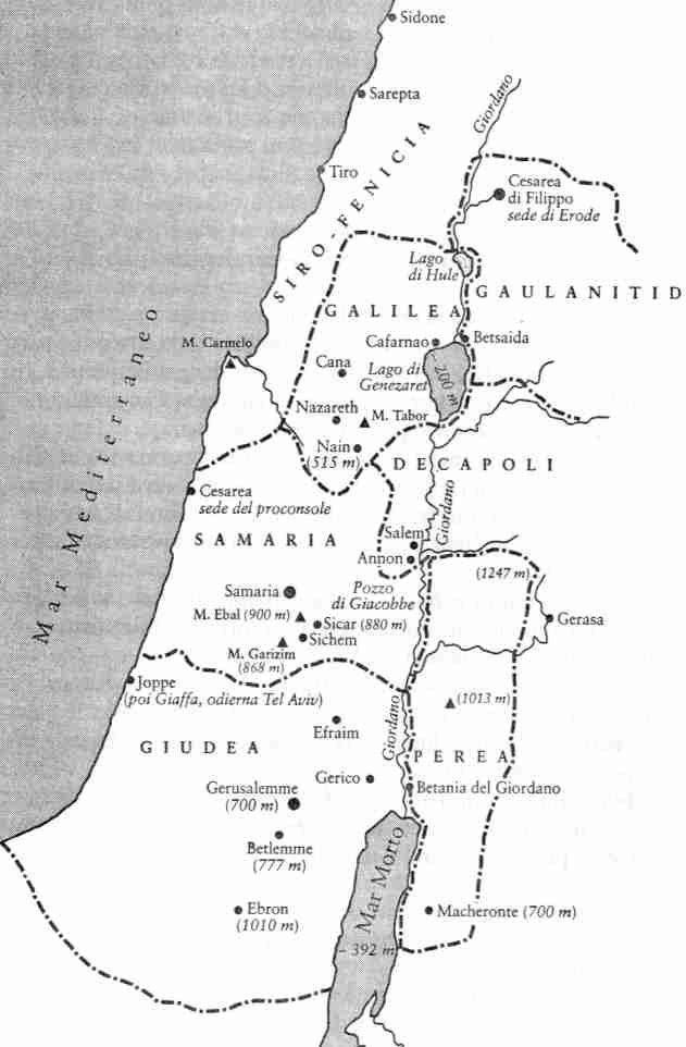 Très La Palestina al tempo di Gesù   Sempre a portata di mano  WQ55