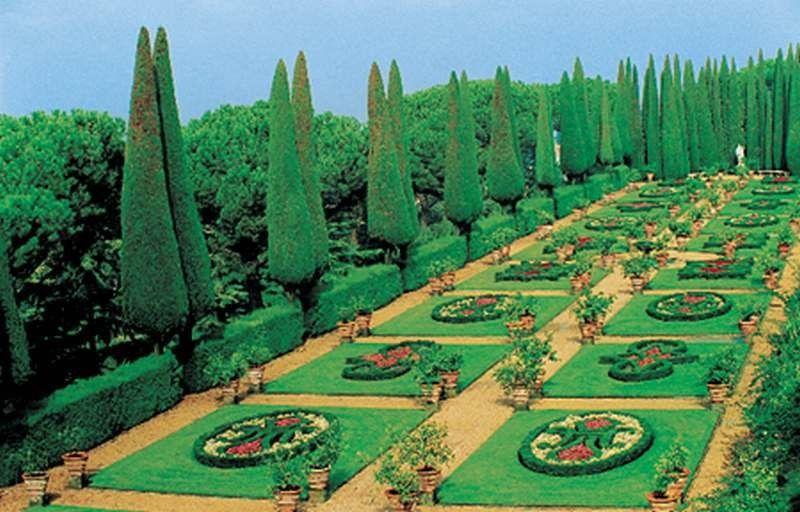 Gardens and Parks:Giardini Vaticani, Castel Gandolfo, Lazio, Italy