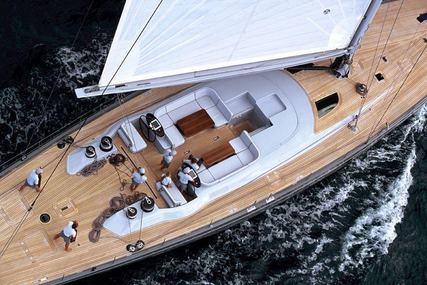 Luxus segelyacht holz  SILVERTIP - Yachting Developments | SAILING: Yacht | Pinterest