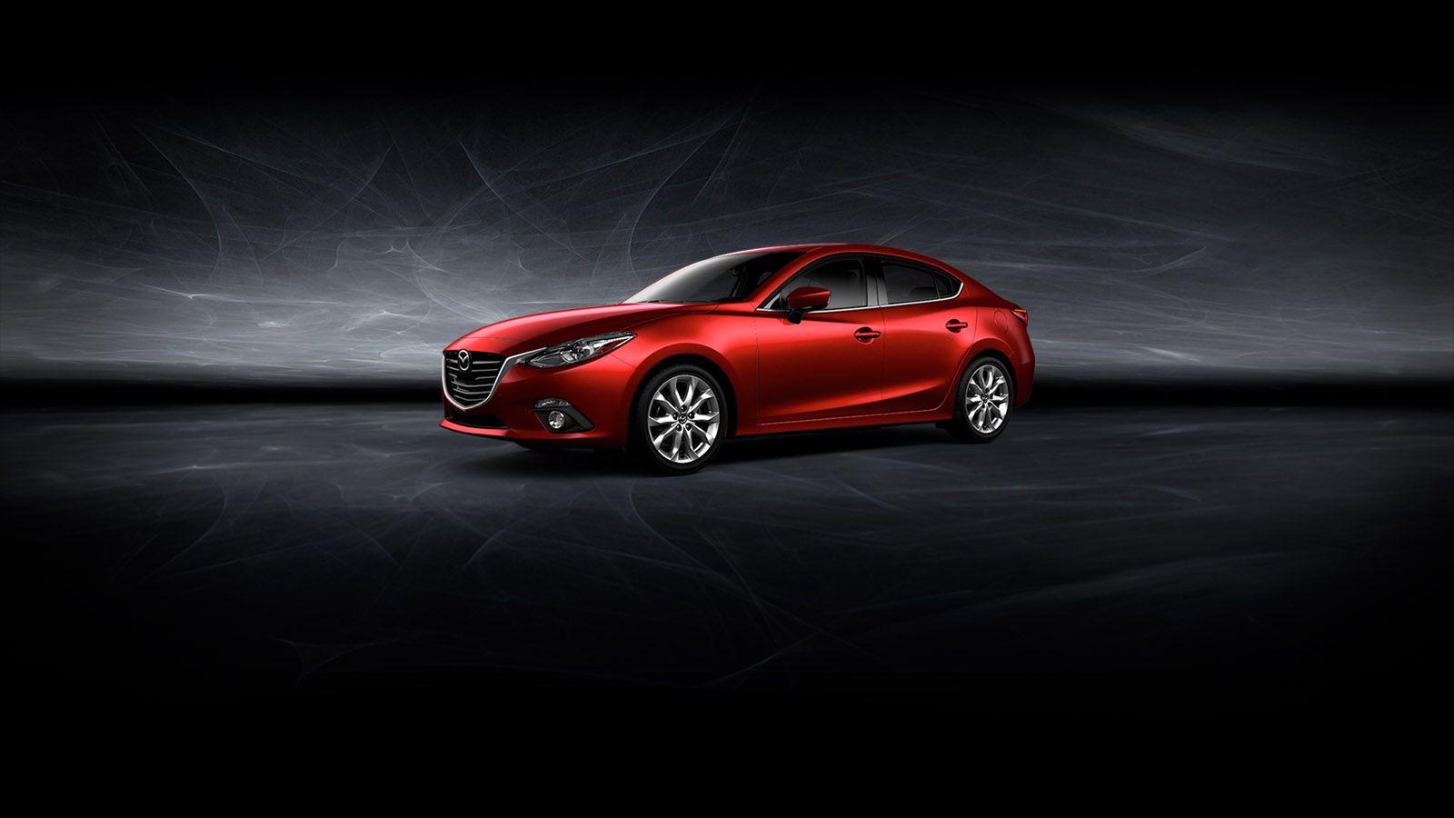 Mazda3 In Soul Red Black Mazda 3 Sedan Mazda Mazda Usa