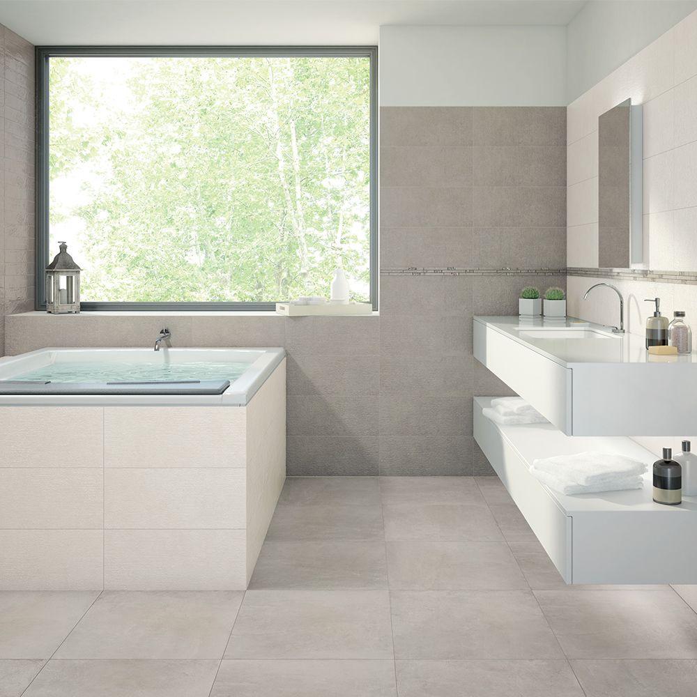 Carrelage Interieur Effet Beton 60x60 Grey Naturel Non Rectifie
