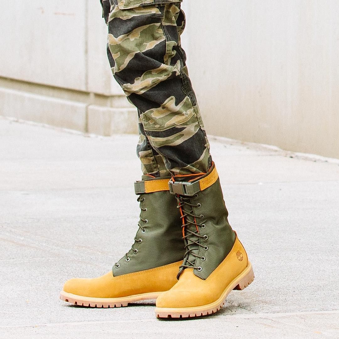 Timberland Upgrades Heritage With New Mixed-Media Gaiter Boots  Classic  style, contemporary design. 34b1cdd418d