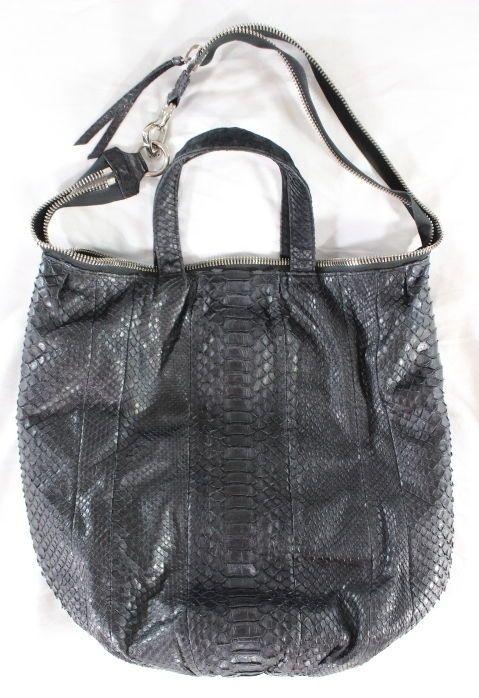 I Just Love It Sang A 3250 Pop Day Python Black Bag Purse Sanga Shoulderbag