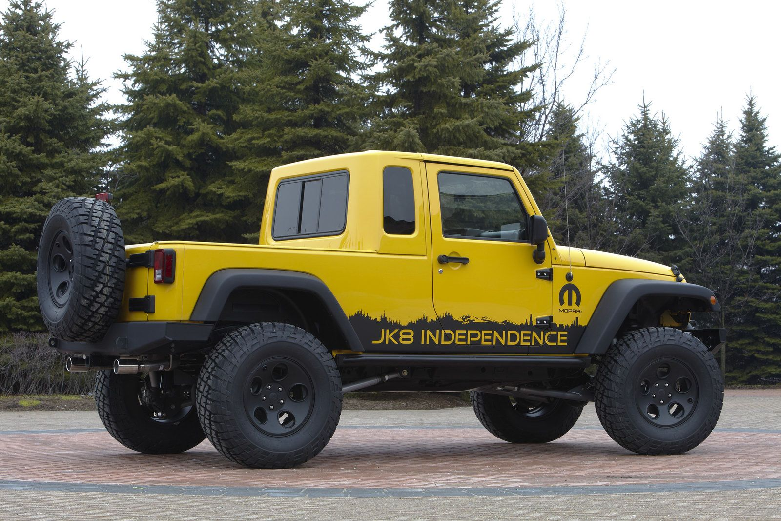 Jeep Wrangler Jk 8 Independence Diy Mopar Kit Allows Owners To