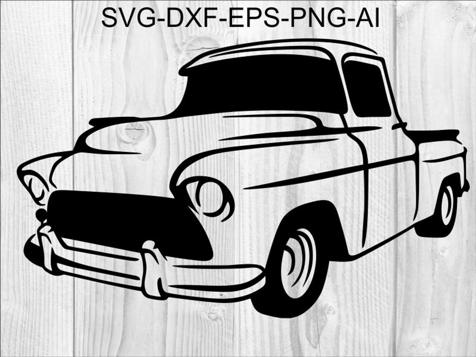 Truck Svg 10 Retro Pickup Pickup Truck Svg Vintage Pick Up Etsy In 2021 Svg Cricut Free Cricut Images