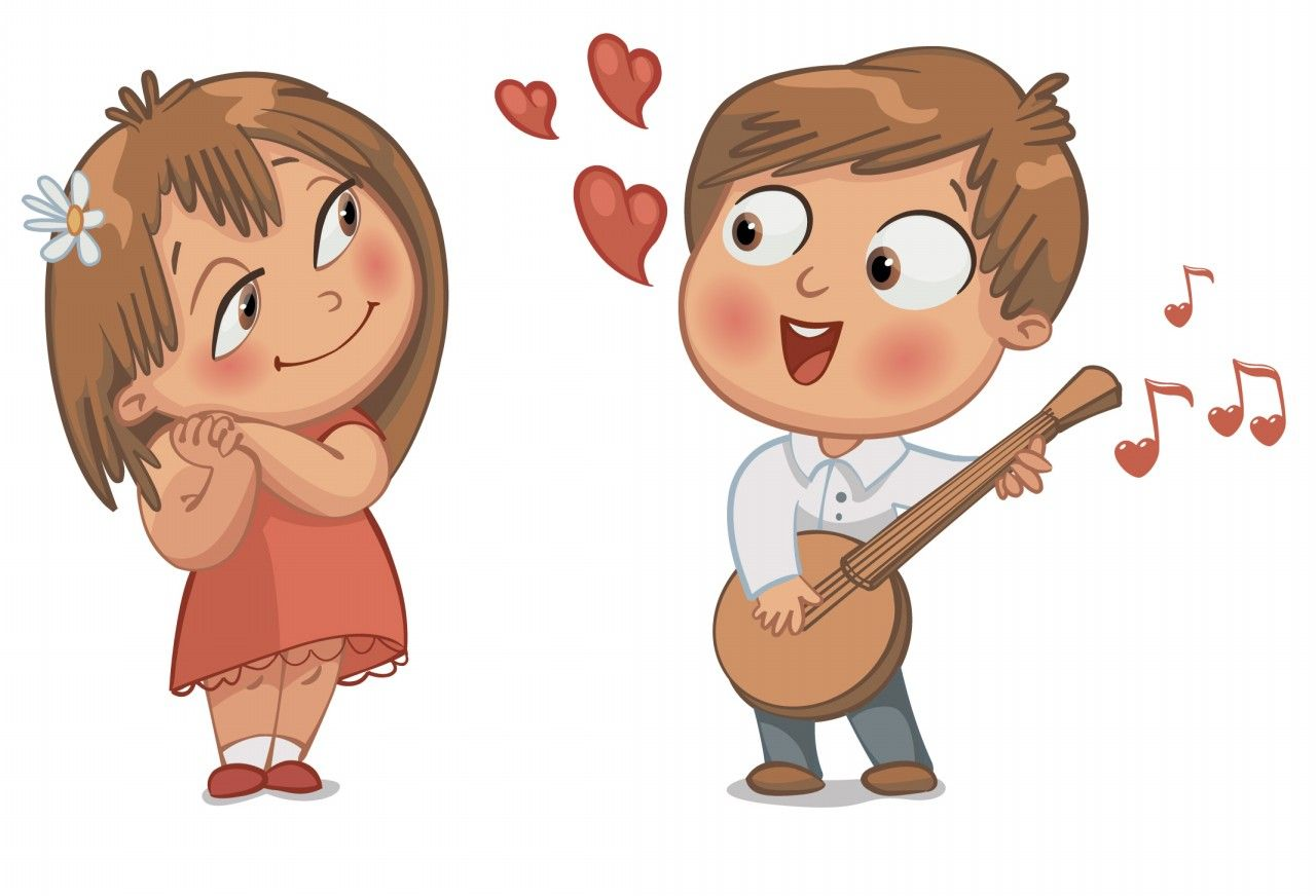 Wallpaper Fall In Love cartoon : love concept cartoon image 1 couple in Love Pinterest cartoon images