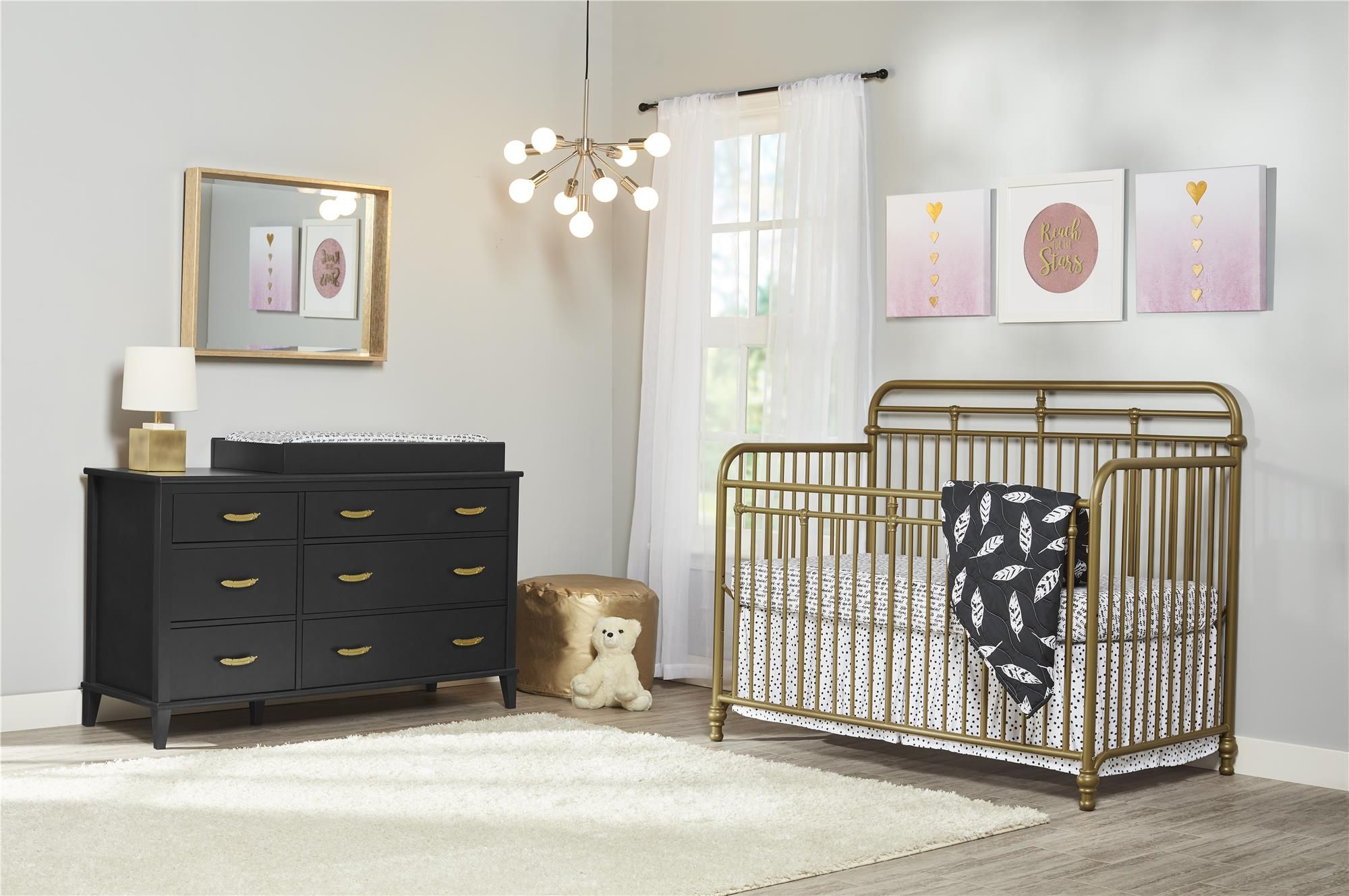 Baby Nursery furniture collections, Cribs, Convertible crib