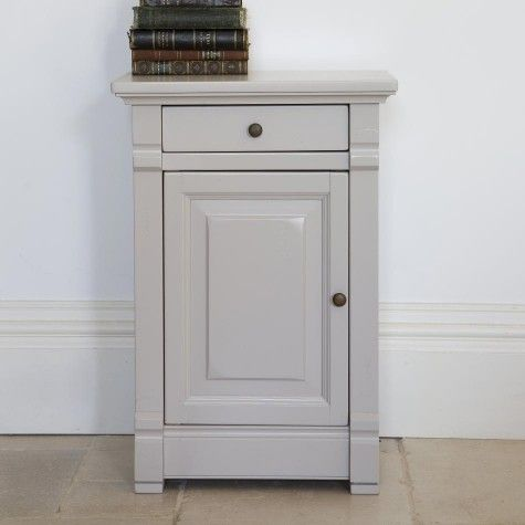 Manoir Painted Bedside Cabinet With Images Luxury Bedside Table Bedside Cabinet Tall Cabinet Storage