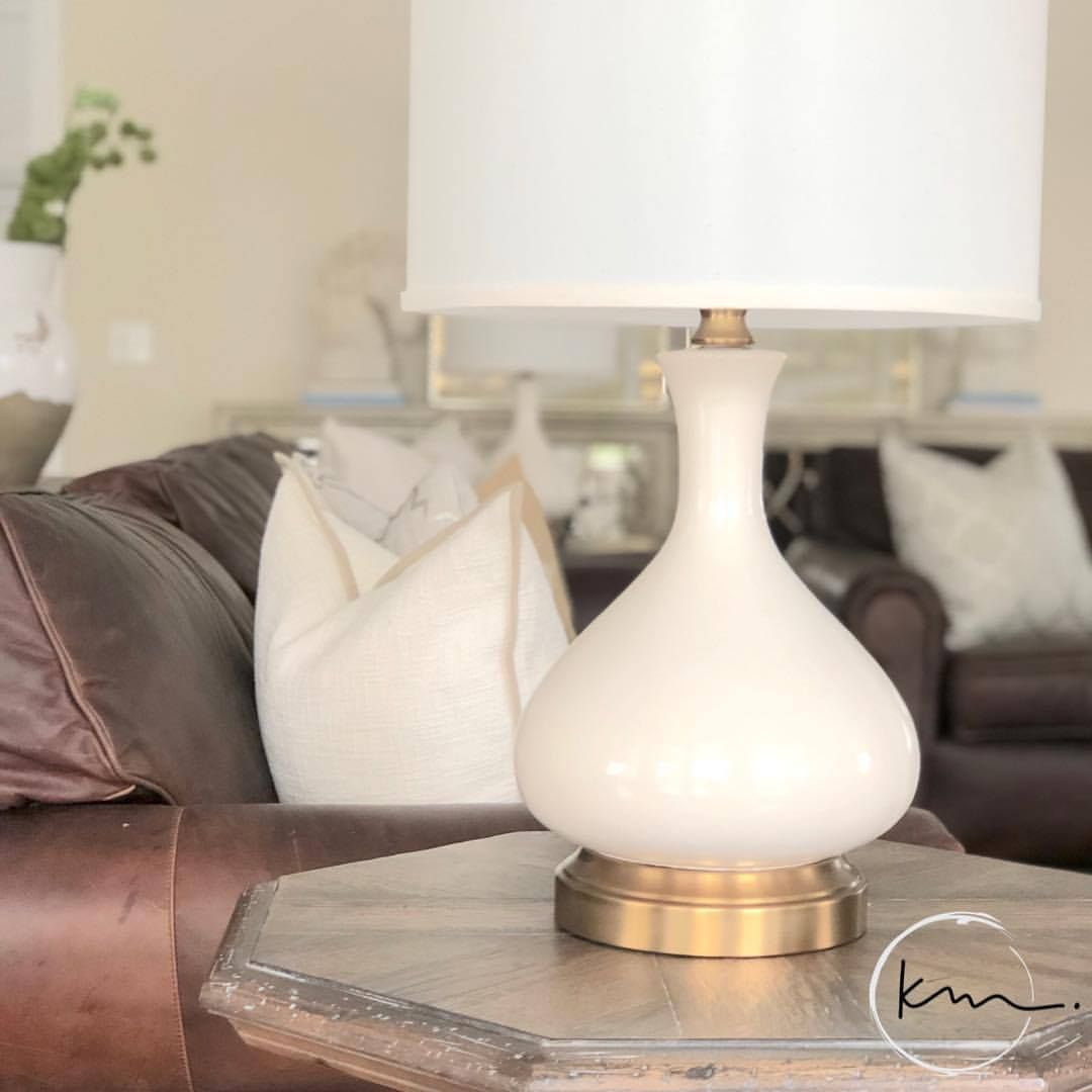 Bartlett Ivory Brass Cordless Lamp Made In The Usa In 2020 Cordless Lamps Lamp Battery Operated Lamps