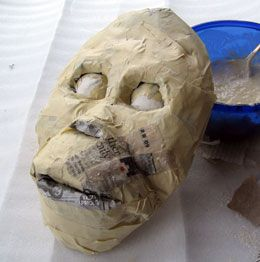 factory sortie d'usine qualité fiable Cool tutorial on making a base for paper mache masks ...