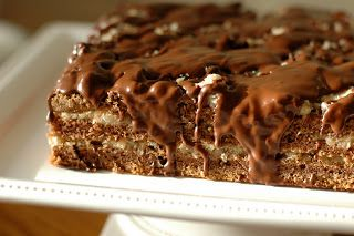A Homemaker's Habitat: From Scratch German Chocolate Cake w/Chocolate Drizzle