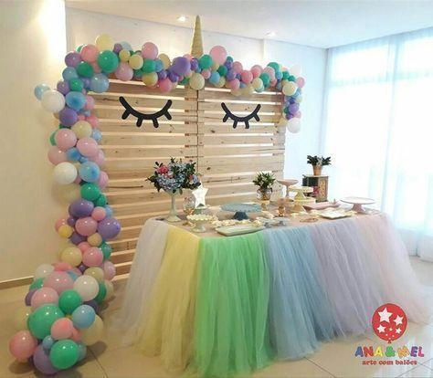 Resultado de imagem para festa unicornio decoraciones for Todo sobre decoracion