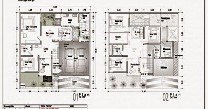 Info Terbaru Gambar Rumah Minimalis Denah Rumah Minimalis 3 Kamar
