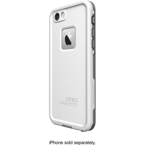 best authentic e1bd7 acca9 Best Buy-LifeProof - FRE Hard Case for Apple® iPhone® 6 - White ...