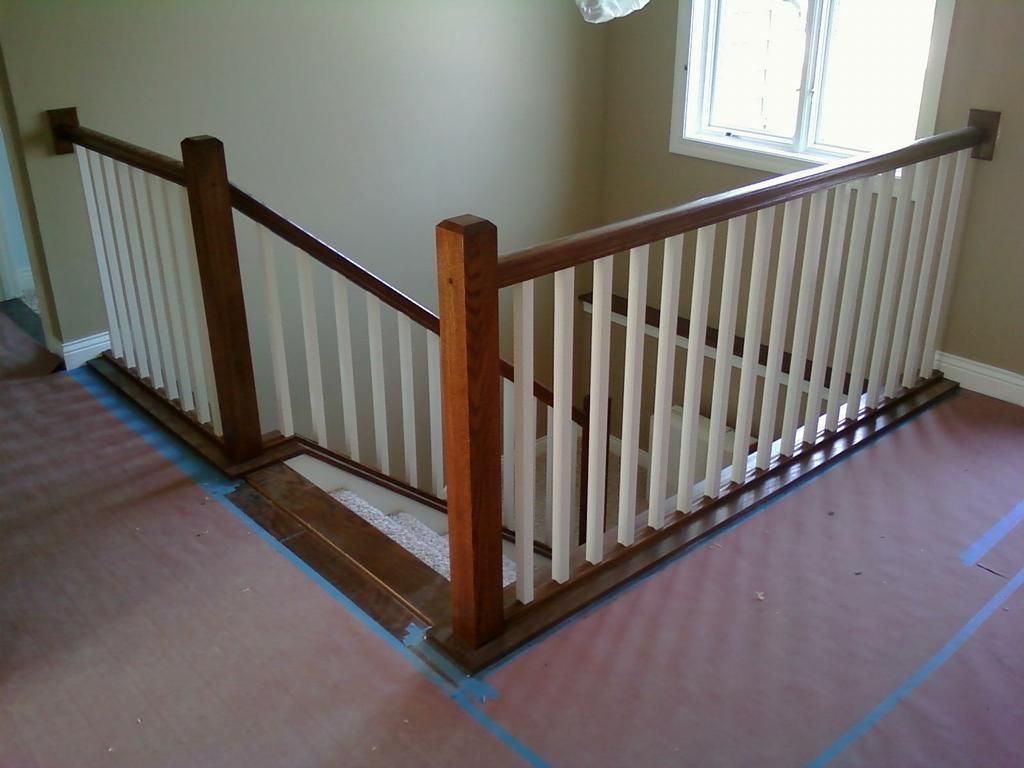 Interior Stair Railing Provided By Vanderhoff Construction Saint Michael 55376 Renovation