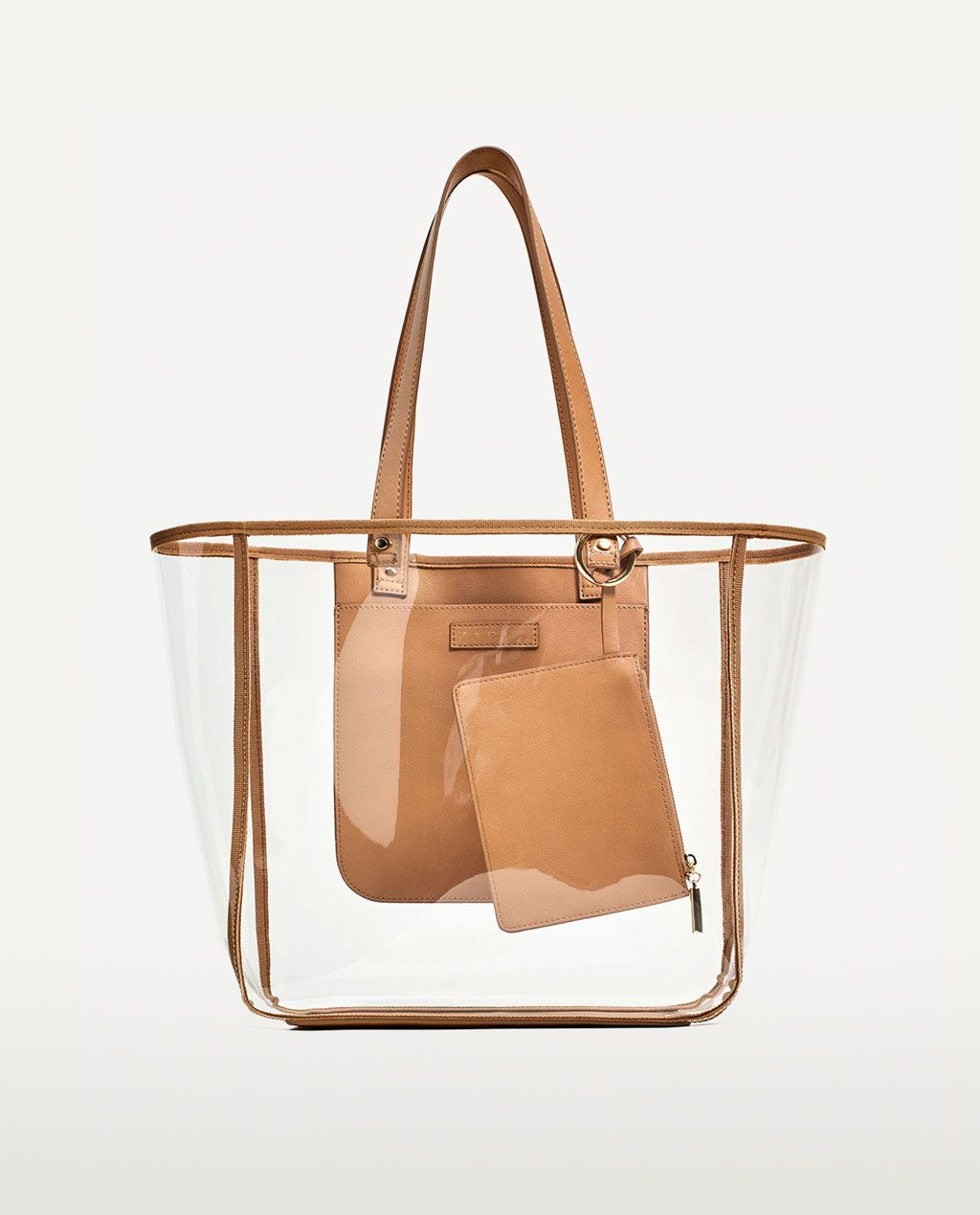 d9b9236dc6 TRANSPARENT TOTE-BAGS-TRF | ZARA United States | 购物袋 | Bags, Tote ...