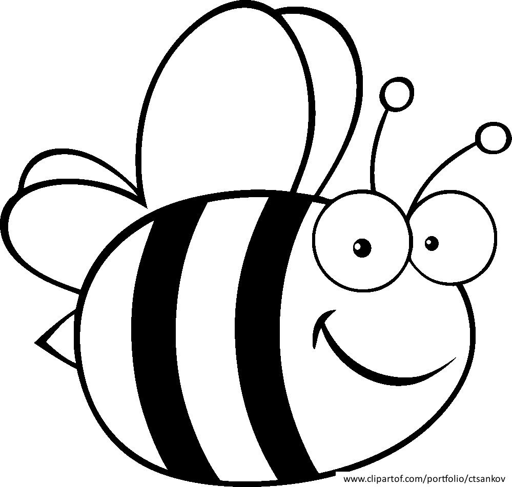 Related Bumble Bee Coloring Pages Item 8523