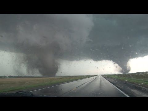 ▶ 6/16/2014 Wakefield Nebraska Twin Wedge Tornado B-Roll - YouTube