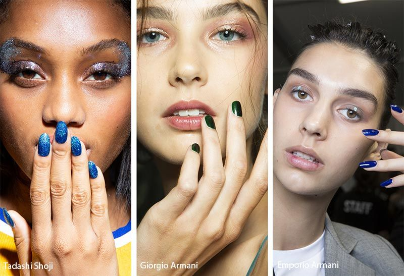 Spring Summer 2019 Nail Trends Nail Polish Colors Nail Color