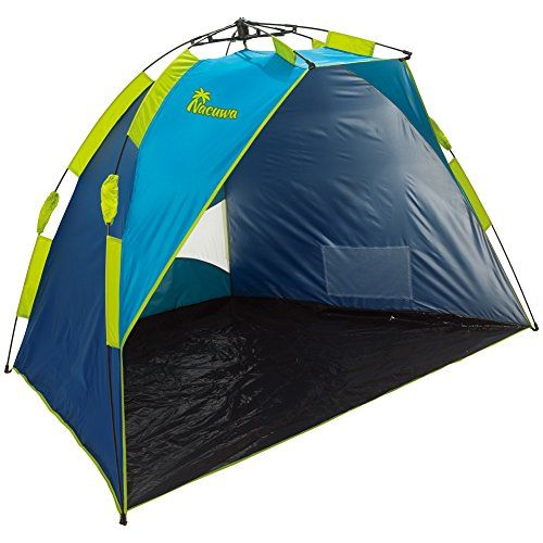 Beach Tent Nacuwa Pop Up Lightweight Sun Shelter 2-Person Portable SPF 50  sc 1 st  Pinterest & Beach Tent Nacuwa Pop Up Lightweight Sun Shelter 2-Person ...