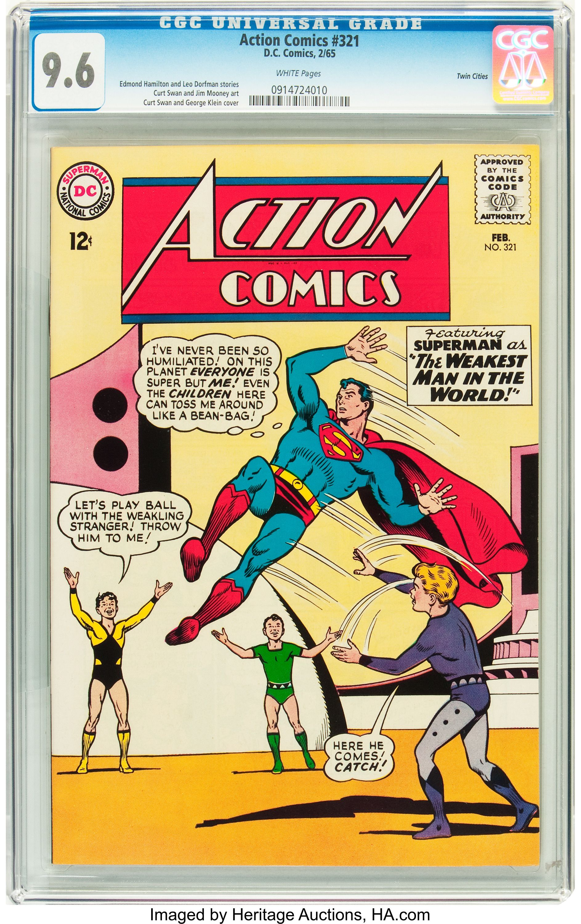 Rare Superman Comic Book Saves Family from Foreclosure