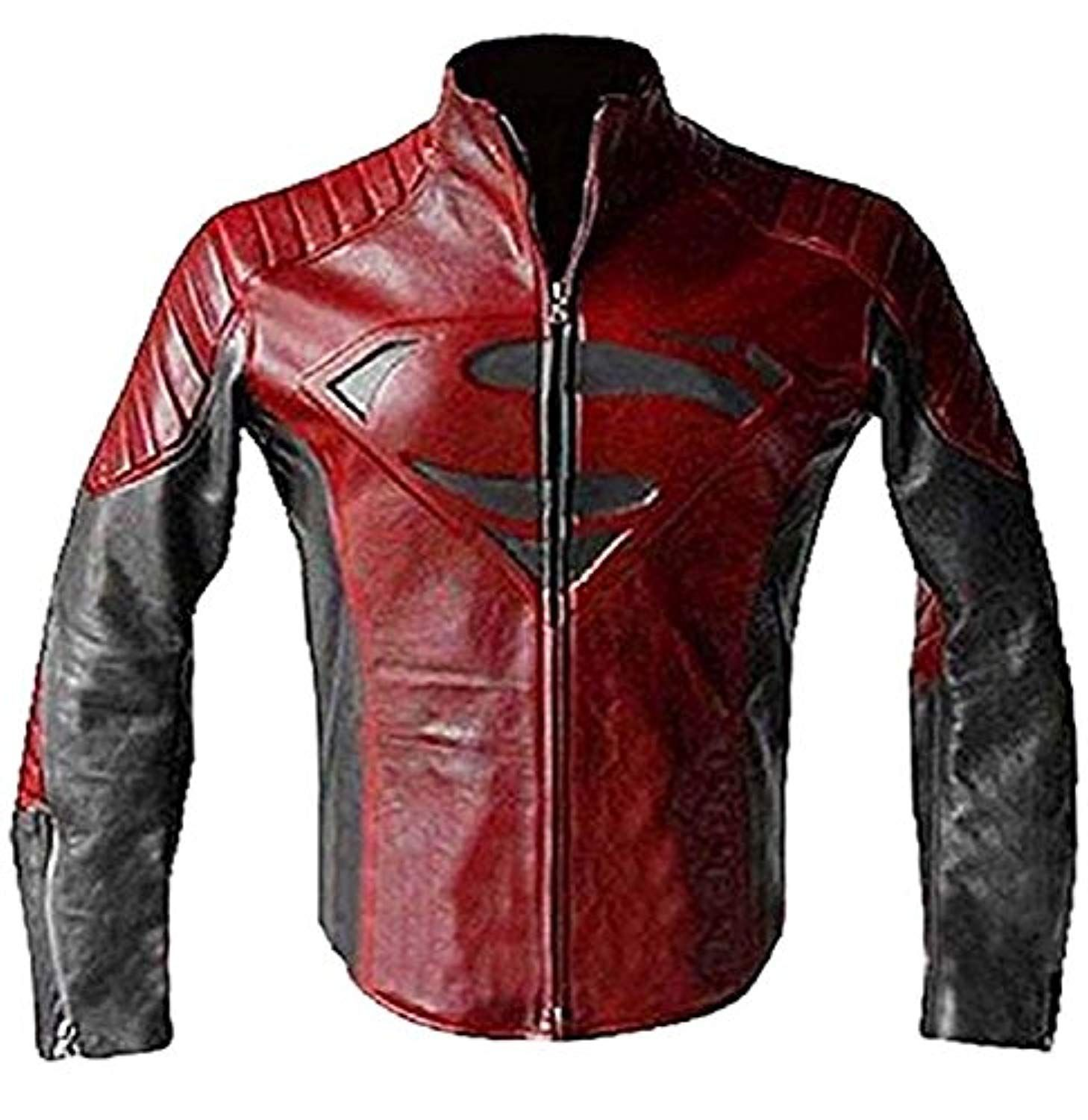 Superman Smallville Man of Steel Motorcycle Red and Black