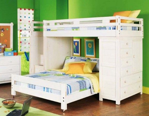 Bedroom Children Bunk Beds Get Safety Tools First White Bed Cover Brown Wooden Floor White Rug Kids Bunk Beds Kid Beds Bunk Beds