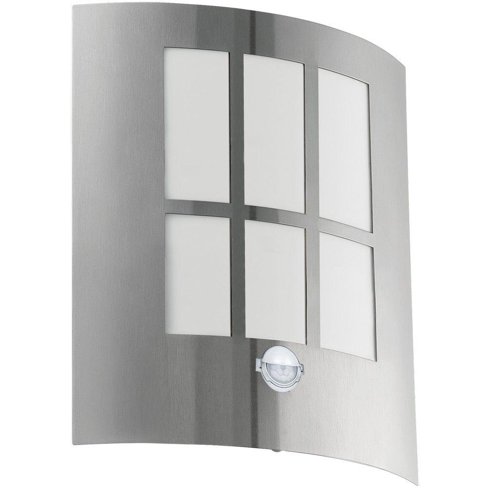 Mooie Eglo 94213 CITY LED Wandlamp roestvast staal 3,7W/LED  #Eglo #Sensor #Staal #Staalmetkunststof #terras #tuin EUR 47.99
