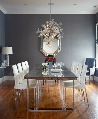 Contemporary Dining Room Chandelier Pleasing Modern Dining Room Chandeliers With Minimalist Furniture Sets Review
