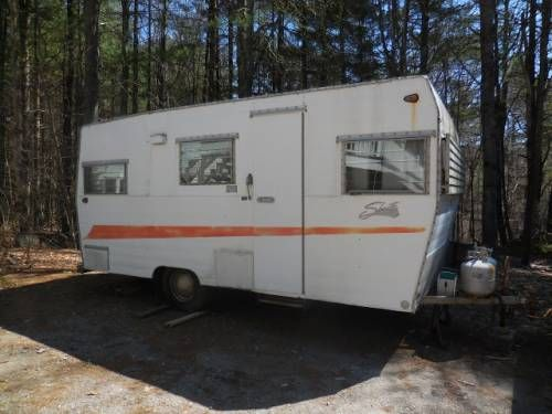 Shasta 1967 Swoosh 15 Foot W Bathroom And Full Kitchen Can