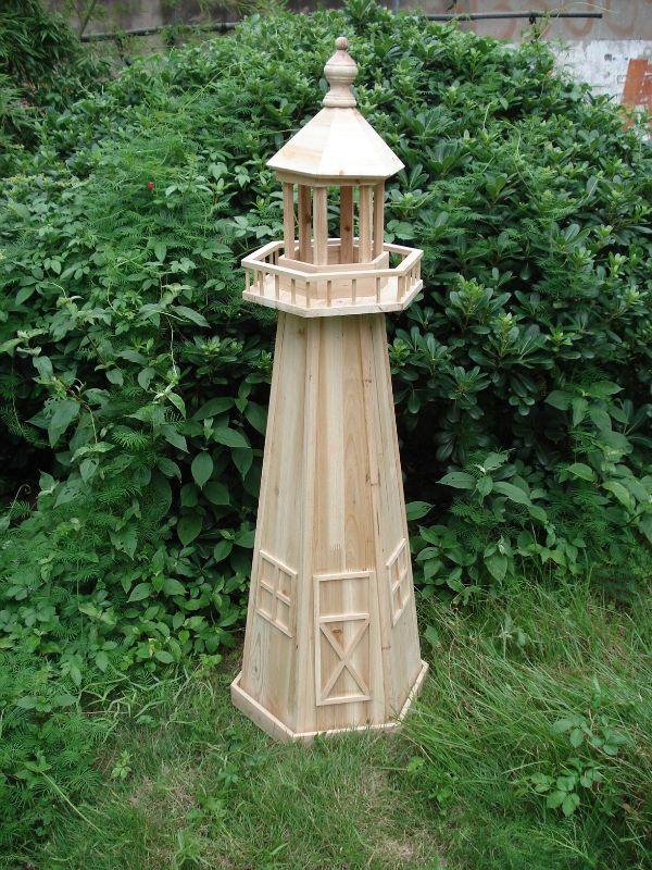 marvelous garden lighthouse 6 wooden lighthouse decorations - Garden Lighthouse