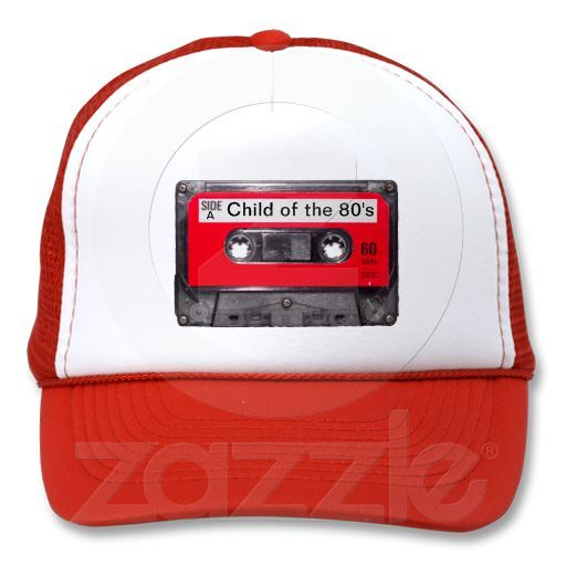 80's Red Label Cassette Mesh Hats
