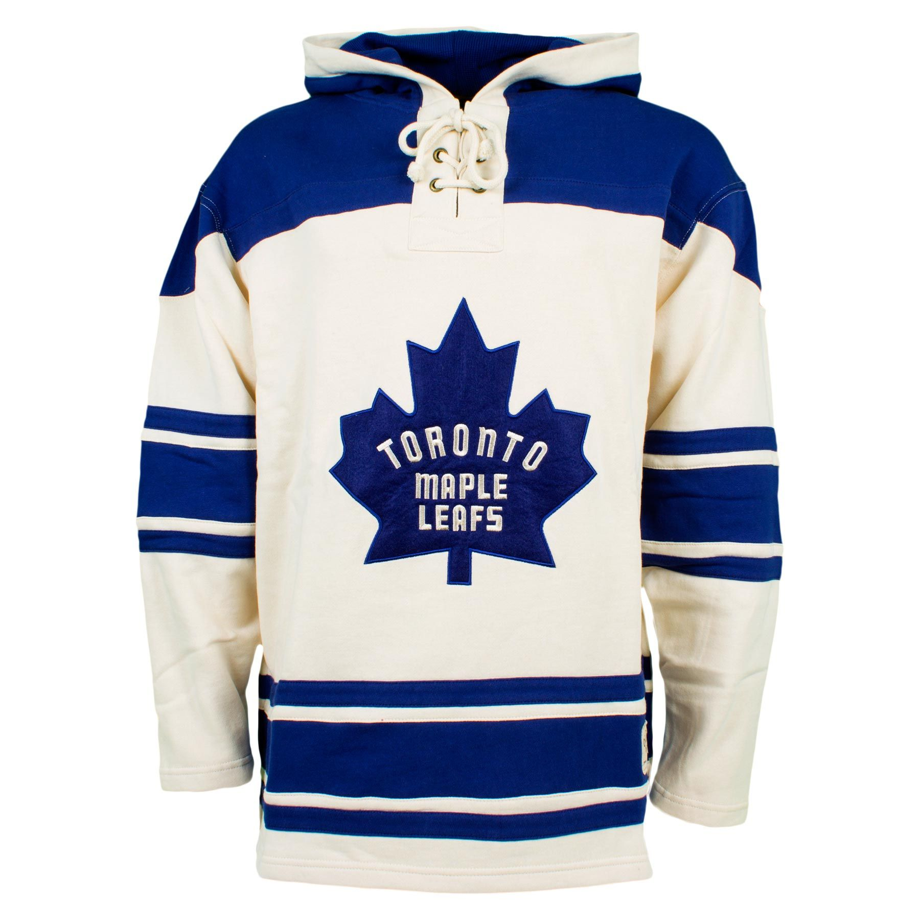 pretty nice b9d2f e5989 Toronto Maple Leafs Vintage Heavyweight Jersey Lace Hoodie ...