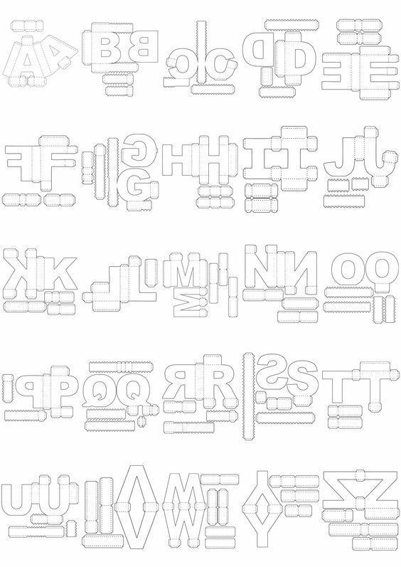Como Fazer Letras 3d Em Eva Passo A Passo Mykinglistcom