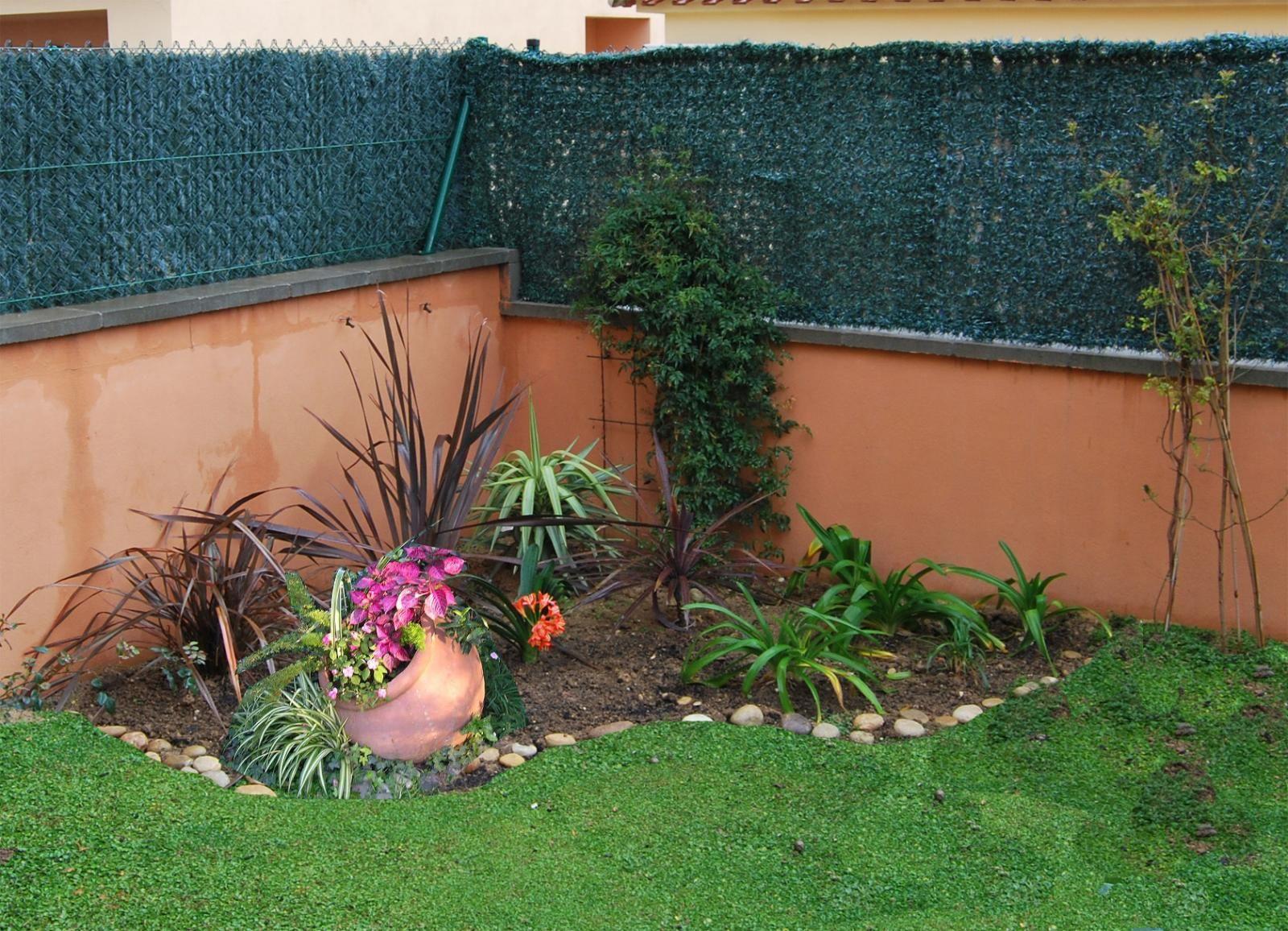 Jardin De 40m Y Entrada Pagina 4 Jardines Diseno De Jardin Tinajas