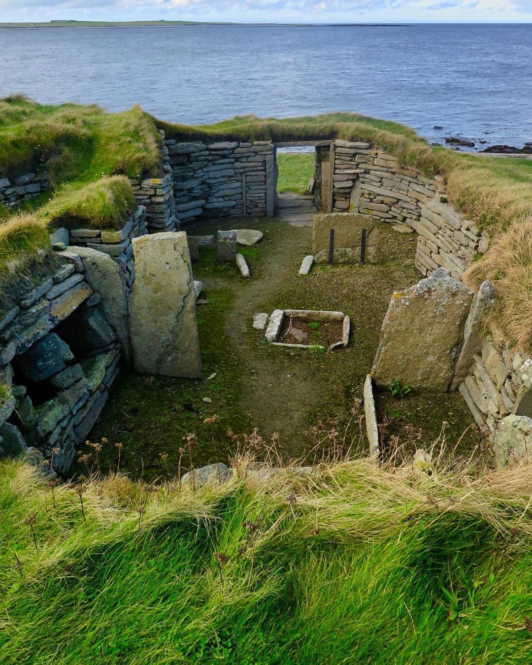 Knap of Howar, 3800 BC, Papa Westray, Orkney Islands #orkneyislands Knap of Howar, 3800 BC, Papa Westray, Orkney Islands #orkneyislands