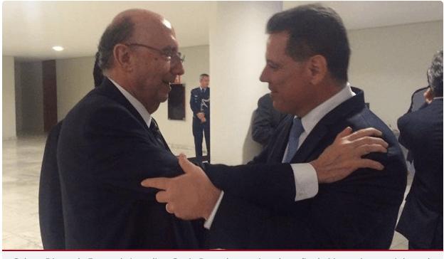 Proximidade do governador de Goiás Marconi e Meirelles é destaque nacional