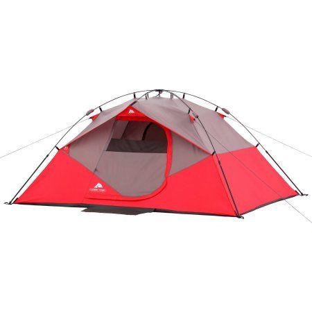 Ozark Trail 4 Person Instant Dome Tent Walmart Com Tent Dome Tent Ozark Trail