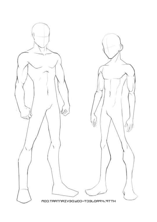10 Anime Person Templates In 2020 Body Drawing Male Body Drawing Body Pose Drawing