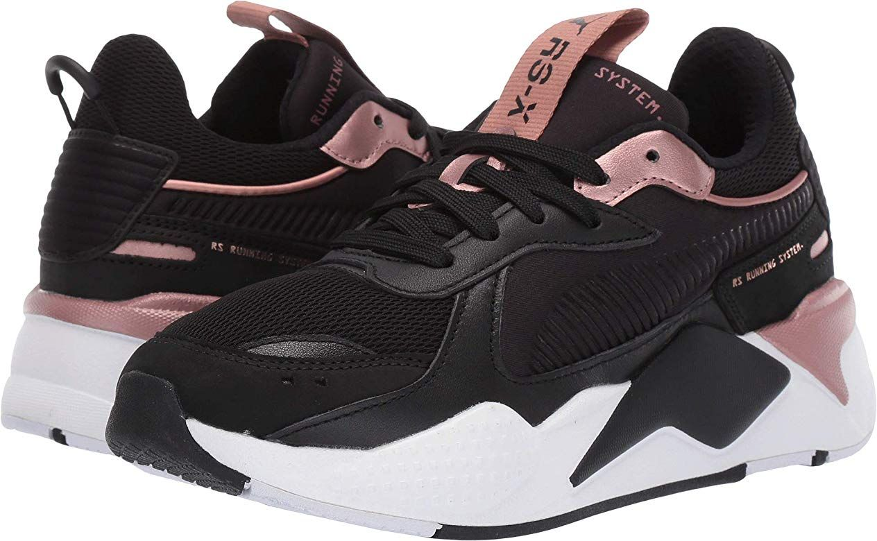 black pumas with rose gold